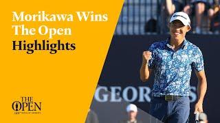 Collin Morikawa wins The Open