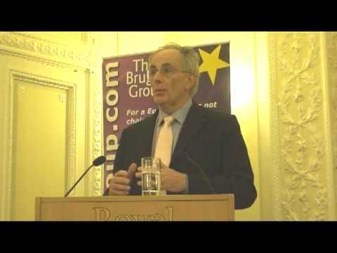 Peter Bone MP at Bruges Group