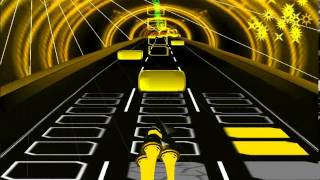 Gintama-Wo-Ai-Ni-male in Music game(Audiosurf)