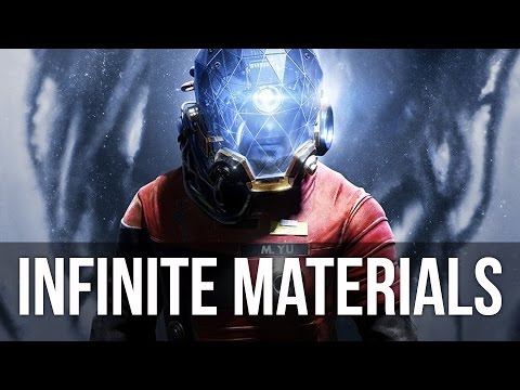 Prey - Unlimited Materials Glitch / Exploit (How to Get Infinite Materials)