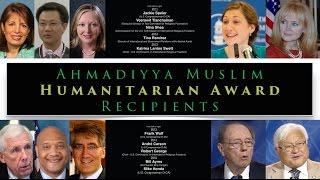 Ahmadiyya Muslim Humanitarian Award