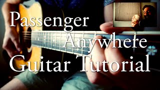 Passenger - Anywhere | Guitar Tutorial | Electric + Acoustic