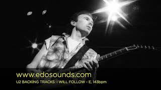Edosounds - U2 Backing Tracks: I WILL FOLLOW