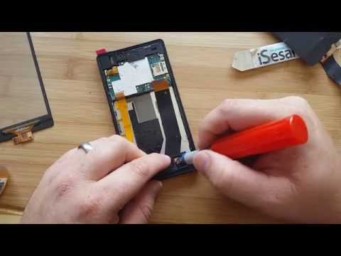 Sony Xperia Z LCD  & Glass Replacement Tech MD