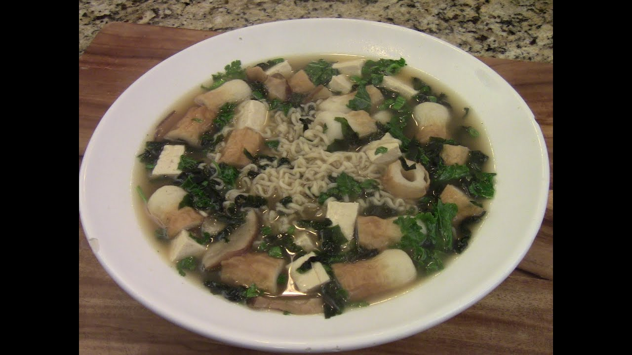 Miso Noodles Soup Simple And Easy