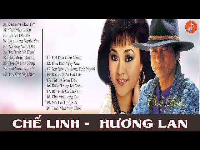 HƯƠNG LAN - CHẾ LINH | Tuyệt phẩm Song Ca Nhạc Vàng Trữ Tình Hay Nhất Của Chế Linh Hương Lan
