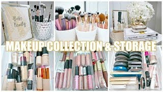 MY MAKEUP COLLECTION & STORAGE!💄 | Leizel Cosgrove