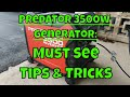 Harbor Freight 3500 Watt Inverter Generator - MUST SEE Tips & Tricks