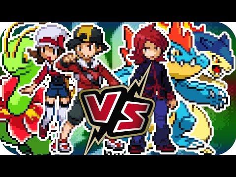Pokémon HeartGold & SoulSilver - Final Battle! Rival Silver (Champion Level)