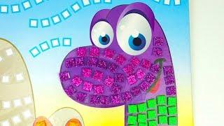 Игровой набор для детей, украшаем динозаврика