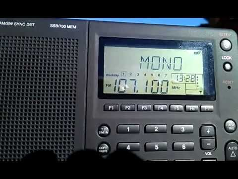 Adelaide radio DX from Iron Knob using Grundig G3 radio (south Australia)