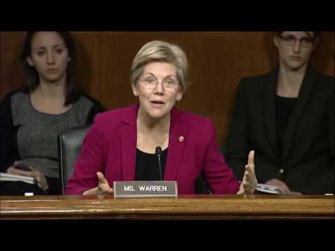 Senator Elizabeth Warren at Aging Committee Hearing on Alzheimer s Disease