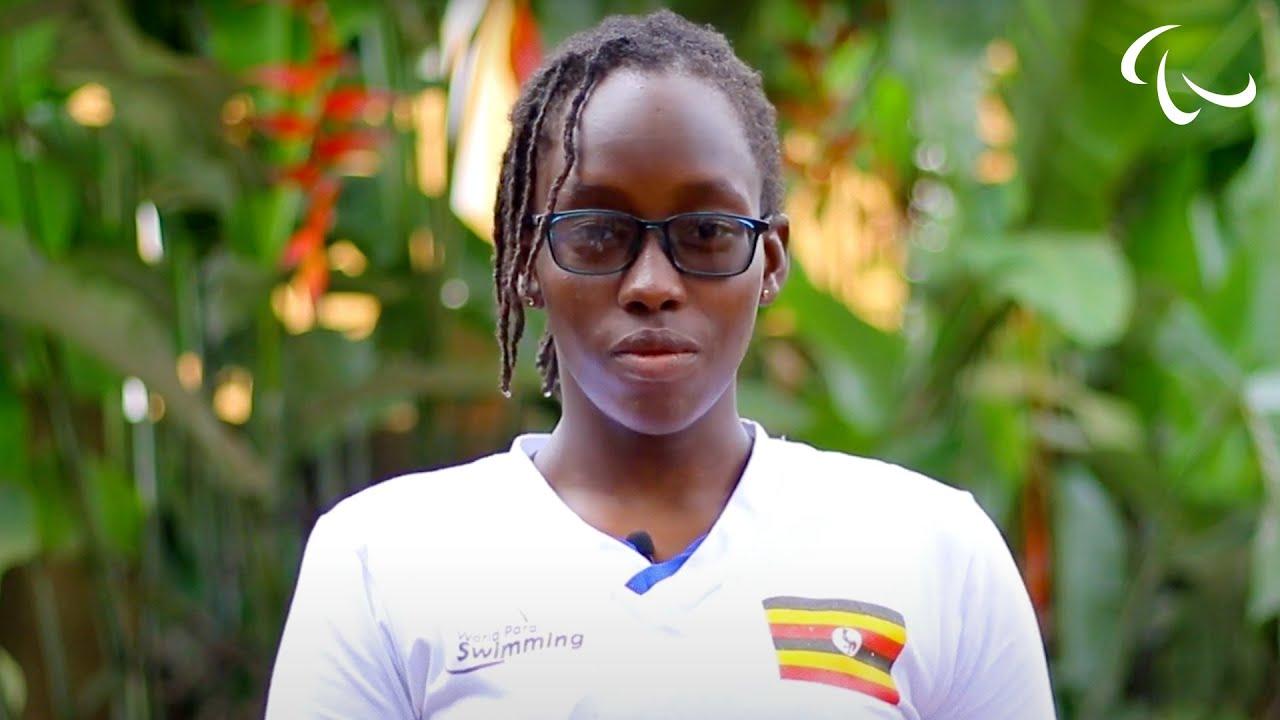 Download Uganda's 13-year-old Swimming Star Husnah Kukundakwe on the Power of Sport | Paralympic Games