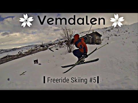 Off Piste Skiing In Vemdalen 2018 (Björnrike and Vemdalsskalet) I Freeride Skiing #5