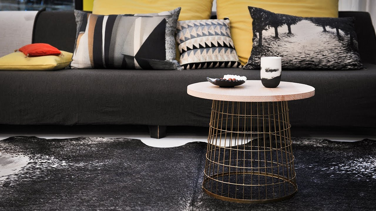 Project Tutorial: Industrial Couchtisch selber bauen. Step-by-step ...