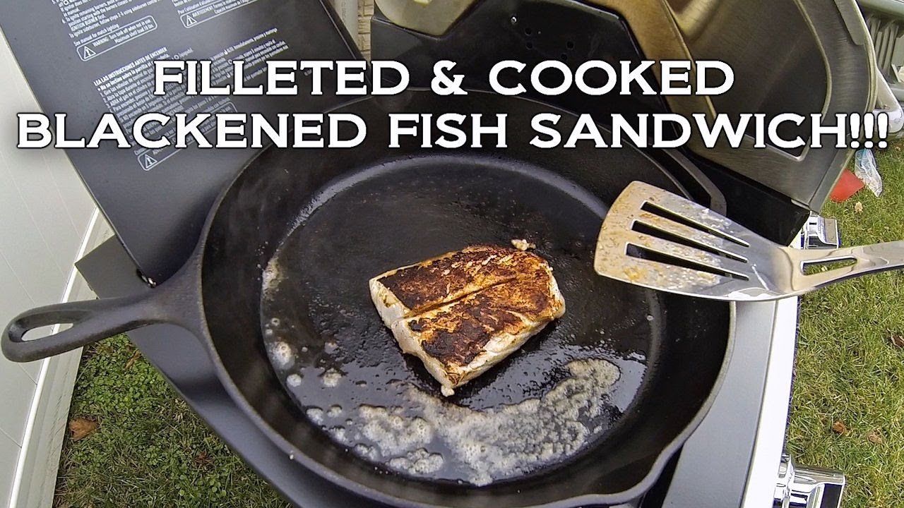 The blackened fish sandwich catch cook simple recipe for Triple tail fish recipes
