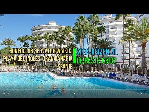 Suneoclub Servatur Waikiki Playa Del Ingles Gran Canaria Spanje Ster Reizen
