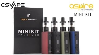 Aspire Milspec X Mini Kit(Aspire Milspec X Mini Kit can be found here: https://csvape.com/shop/vape-starter-kits/milspec-x-aspire-mini-kit/ Product Description The Milspec X Aspire Mini ..., 2016-09-06T16:59:07.000Z)