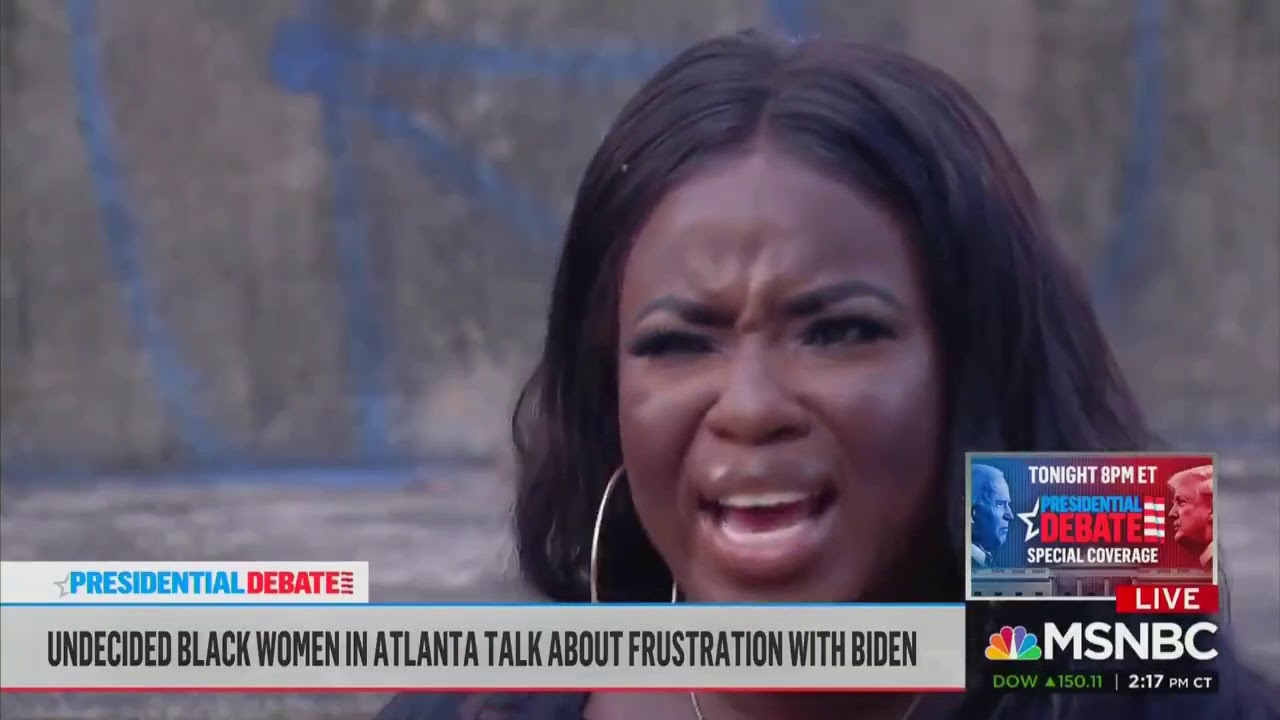 Undecided Black women voters call out Joe Biden for taking their vote for granted