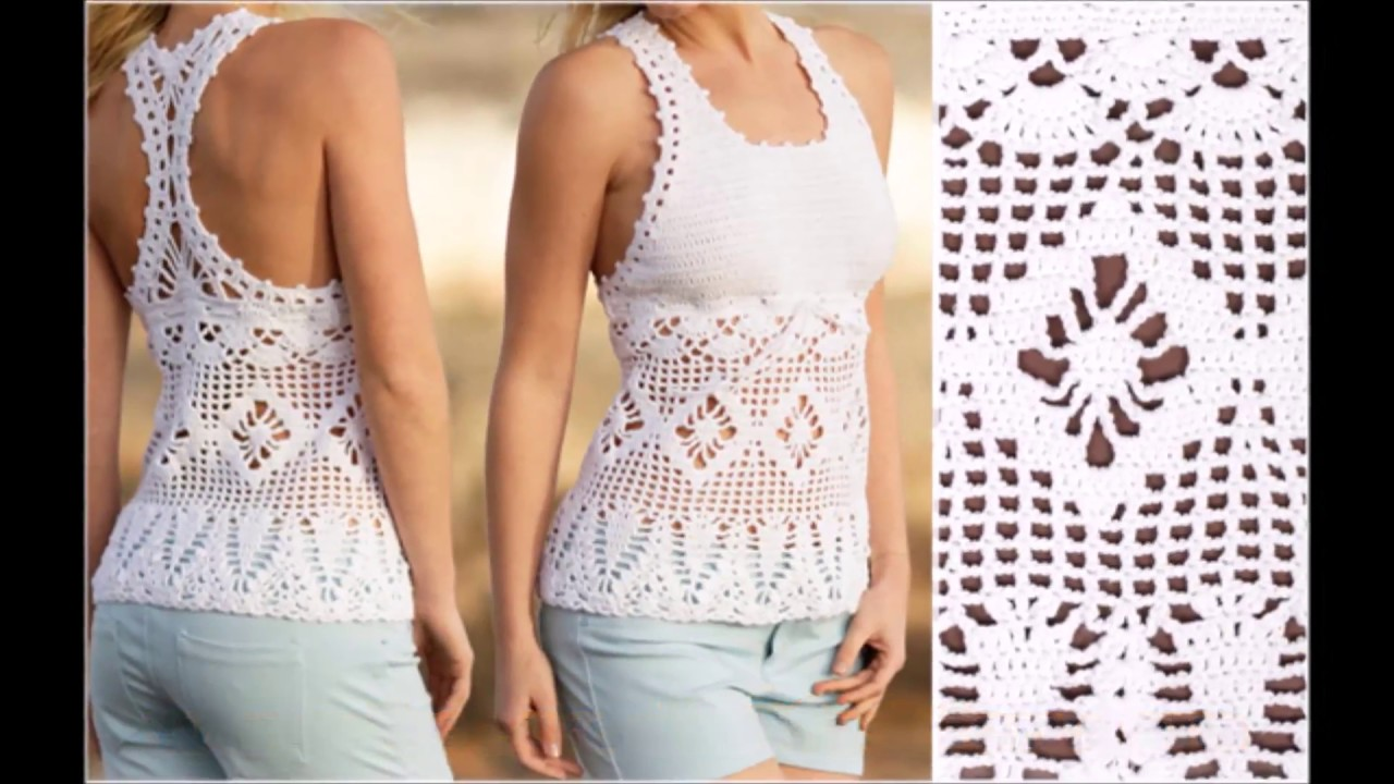 Crochet Blouse Free Pattern Choose Your Yarn And Follow The