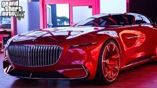 the new mercedez maybach 6 concept car gta 5 mods