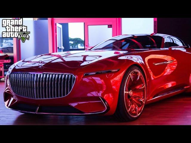 THE NEW MERCEDEZ MAYBACH 6 CONCEPT CAR! (GTA 5 Mods)