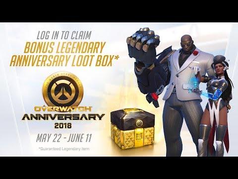 Overwatch Seasonal Event | Overwatch Anniversary 2018 (EU)