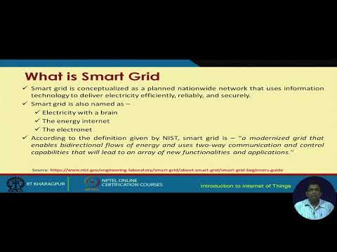 NPTEL_(IOT)_Lecture 51- Smart Grid- I