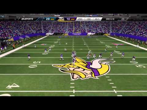 MADDEN 25 GAMEPLAY   FINEST LEAGUE PANTHERS VS VIKINGS