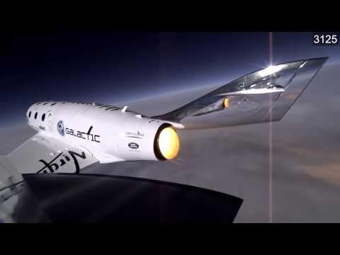 SpaceShipTwo - Catastrophic Failure Moment | Video