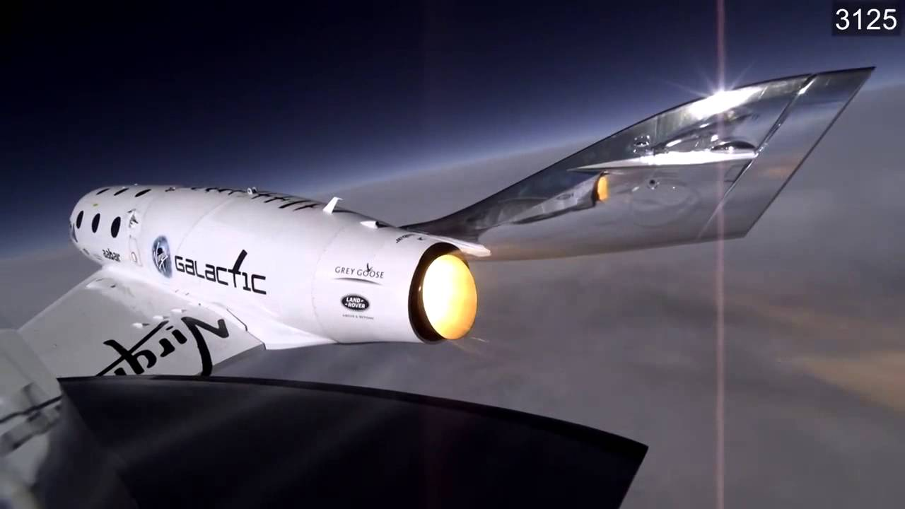 SpaceShipTwo - Catastrophic Failure Moment | Video - YouTube