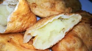 ПИРОЖКИ БЕЗ ЗАМОРОЧЕК НА СКОВОРОДЕ Пирожки с картошкой
