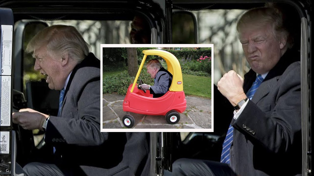 maxresdefault this trump truck driving meme is everything! what's trending now