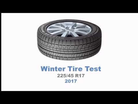 2017 winter tire test summary 225 45 r17 youtube. Black Bedroom Furniture Sets. Home Design Ideas