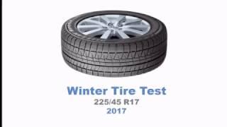 2017 Winter Tire Test – Summary | 225/45 R17