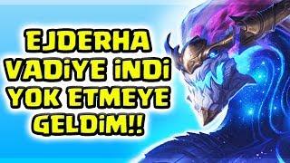 DEMİRDEN ELMASA EJDERYA İLE NASIL TAŞINIR !!! AURELİON SOL ZOR ŞAMPİYON KOLAY WİN !!! | Apophis