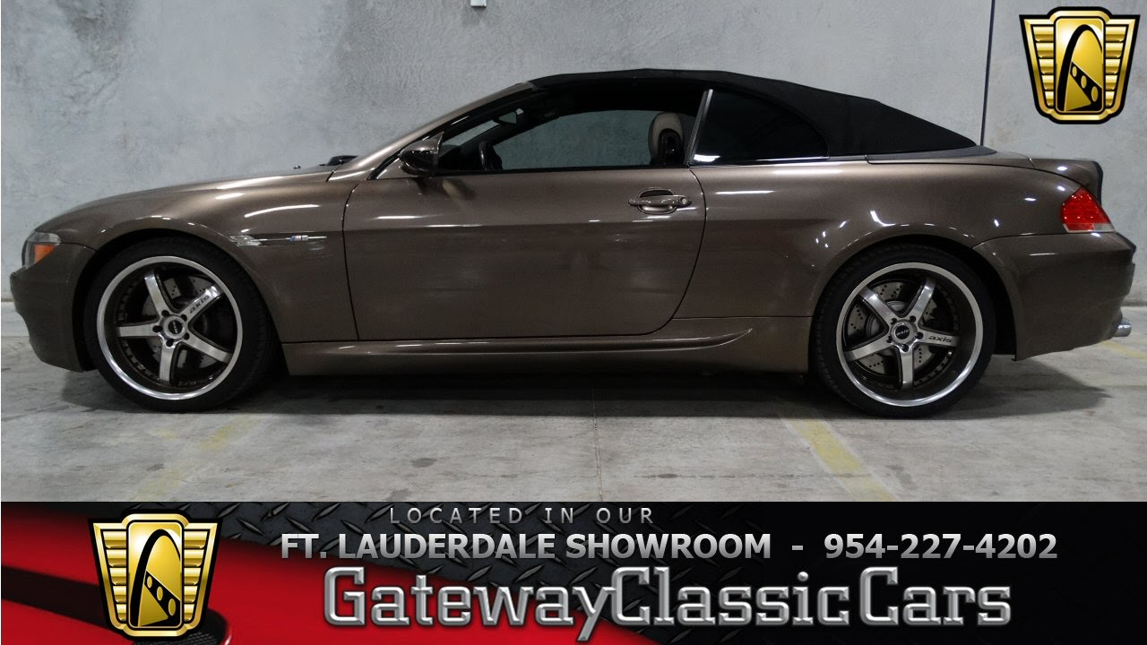 2007 BMW M6 Convertible- Gateway Classic Cars of Fort Lauderdale #60 ...