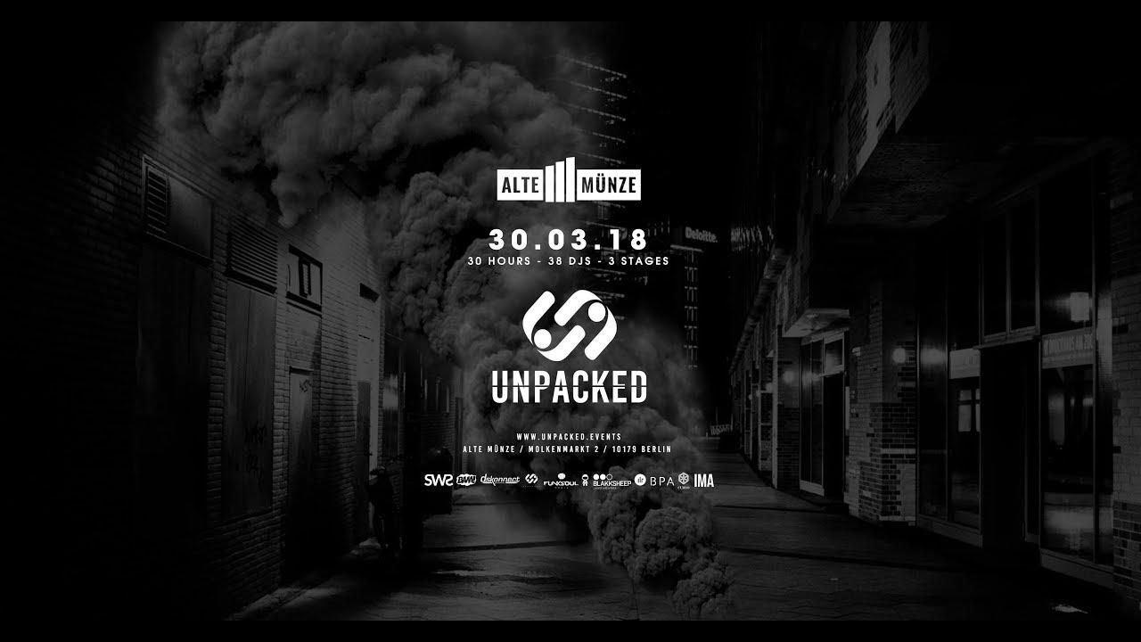 Unpack Events Berlin Alte Münze 300318 Youtube