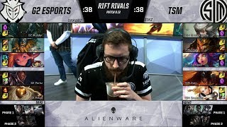 G2 vs TSM - 2019 Rift Rivals - G2 Esports vs Team SoloMid