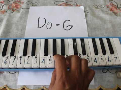 INDONESIA RAYA || Pianika Dengan Nada Dasar Do=G