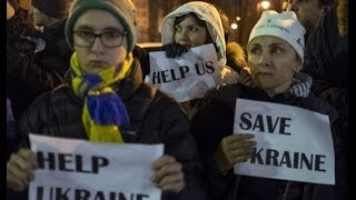Ukraine Looming Bankruptcy and Russian Ruble Plunging