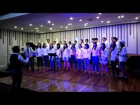 Street Song Concert #1   012   Killing me softy by Shyam Choir