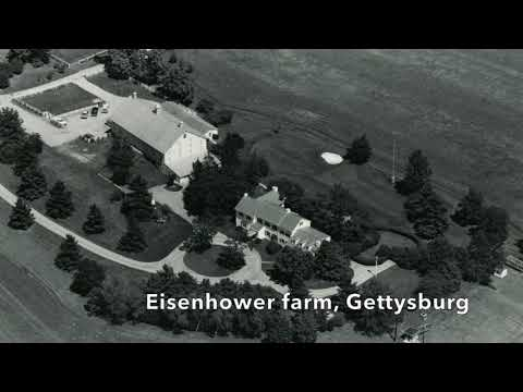 A bird's eye view of central Pa. in 1978, video