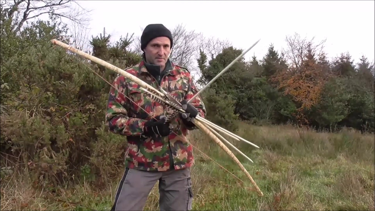 how to make a folding bow