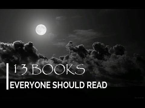 13 Books everyone should read