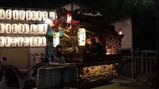 2018.7.20 東大阪市 弥刀神社 夏祭り 地車囃子