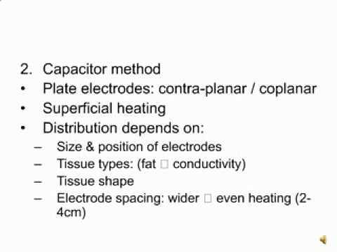 Electrophysical agents  Shortwave Diathermy