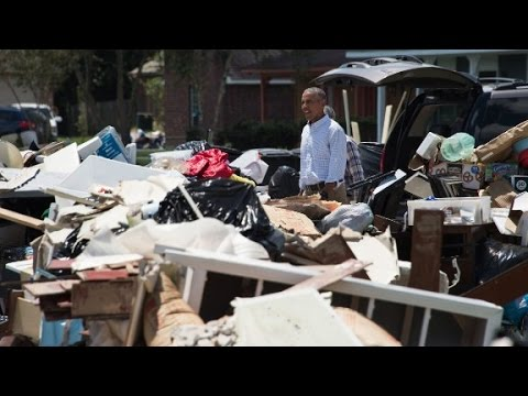 Obama tours Louisiana: 'This is not a photo-op issue...