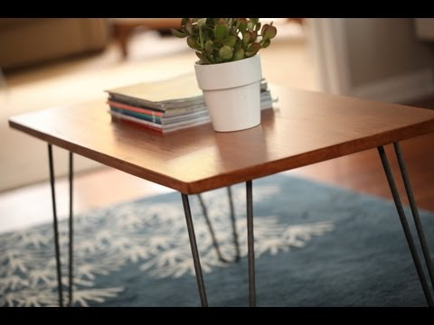 How to Transform a Table Into a Mid-Century Modern Treasure || KIN DIY
