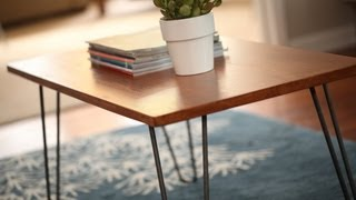 How to Transform a Table Into a Mid-Century Modern Treasure KIN DIY